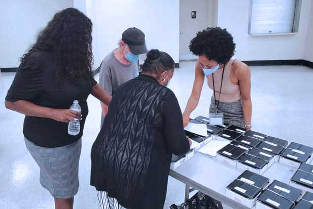 Irvington Housing Authority, partners provide tablets to seniors