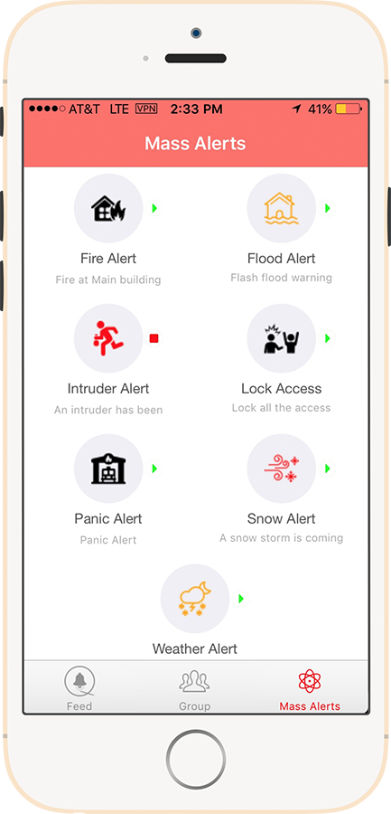 One-Touch Alerts